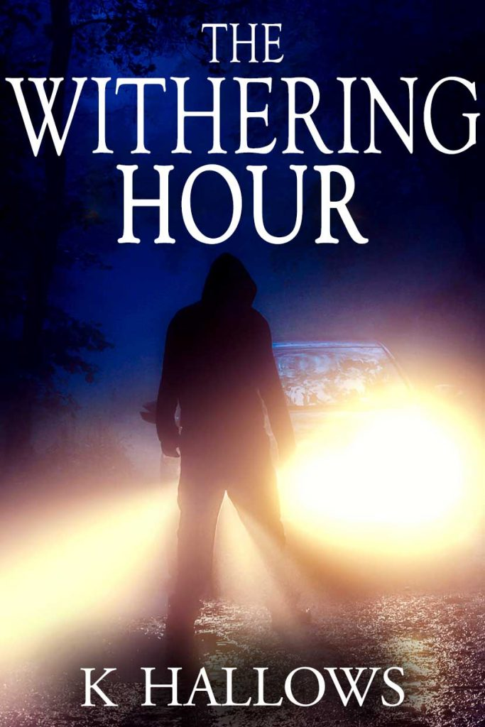 The cover for The Withering Hour by K Hallows
